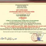 Nhà máy Dolexphar – Đơn vị thành viên của Pharma Global vinh dự đạt chứng nhận GMP của Bộ Y tế