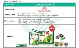 Thông báo ra mắt sản phẩm mới Canadas Brain IQ
