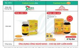 Thông báo cải tiên và thay đổi nhận diện sản phẩm FranGold-Curmin